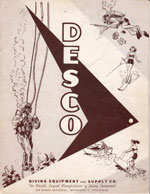 1955 DESCO Water Sports Catalog cover