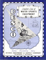 1956 Water Sports Catalog cover