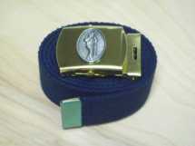 Belt Buckle - Navy Style with Diver Down Logo and Belt