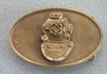 Belt Buckle - Brass Finish
