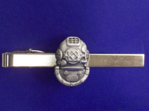 Nickel Mark V Helmet Tie Bar