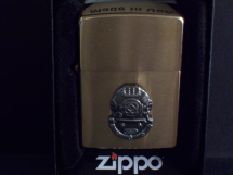 Brass Mark V Helmet Zippo Lighter