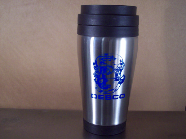 Stainless Steel Desco Travel Mug