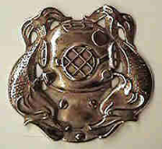 U. S. Navy Divers Plaque
