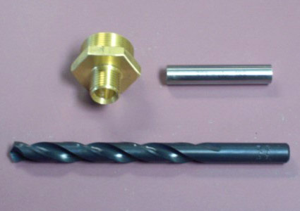 Air Hat Bailout Non-Return Valve and Drill bit