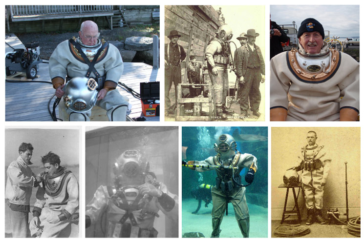 deep Sea Divers throughout History