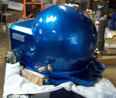 Desco Air Hat after Restoration rear view - beautiful