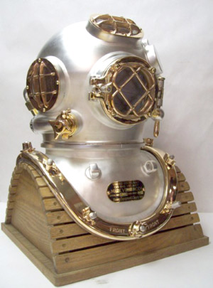 Divers Helmet Ready To Ship