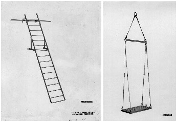 Divers Ladder - Lifting Stage